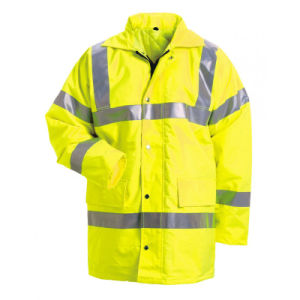 Yellow Reflective High Visibility Clothing Safety Jacket pictures & photos