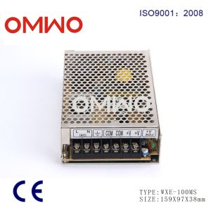 Wxe-100ms-24 110VAC to 24VDC 4.2A 100W Mini LED Driver SMPS pictures & photos