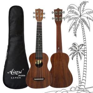 Koa Pili Koko All Solid Koa Adults Wholesale Ukulele pictures & photos
