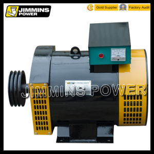 Stc Environmental Safety Fuel-Efficient Three Phase AC Electric Dynamo Alternator with a Brush and All Copper Generating Set (HS Code: 85016100) pictures & photos