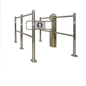 Metal Turnstile Swing Gate Entrace Gate Guide Doors 1057 pictures & photos