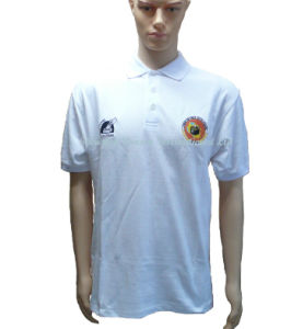 100% Cotton Polo Shirt with Two Embroidery Logo pictures & photos