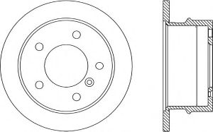 German Auto Parts Brake Disc pictures & photos
