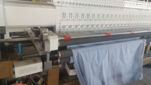 Hye-Q233 Double Needle High Speed Quilting Embroidery Machine pictures & photos