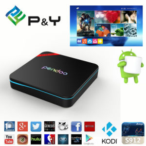 Pendoo X9PRO Dual WiFi with Bluetooth4.0 Android 6.0 TV Box pictures & photos