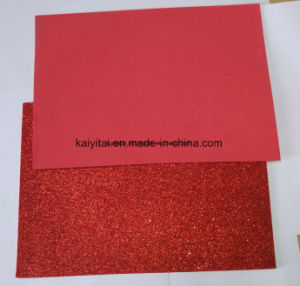 Bright Color Glitter EVA Sheets for Crafts /School Education pictures & photos