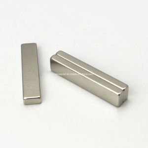 Magnetic Floor Sweeper Spare Part Strong Neodymium Block Magnets 50x10x5mm pictures & photos