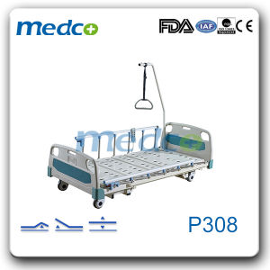 Electric Adjustable Hospital Furniture, Three Functions Electric Hospital Nursing Bed pictures & photos