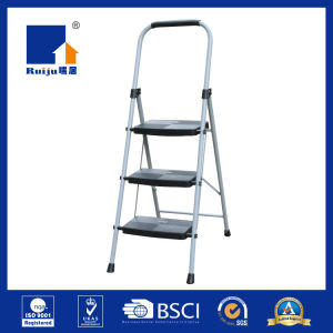 Grey Paint Steel Ladder High Strength pictures & photos