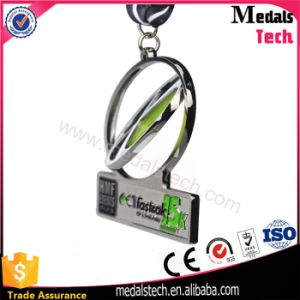Custom Cheap Make Metal Sports Rotating 60mm Medal pictures & photos