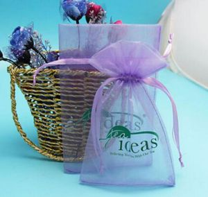 Wedding Gift Drawstring Organza Gift Bag pictures & photos