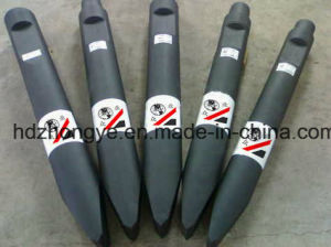 Okada Hydraulic Rock Breaker Moil Point Chisel pictures & photos