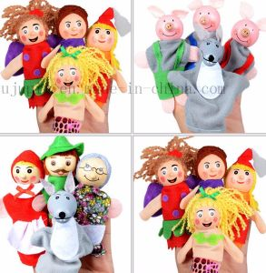 Custom Play House Kids Children Hand Finger Puppet Toy pictures & photos