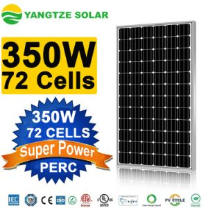 Super Power Perc 18.1% High Efficiency Photovoltaic Mono 350W Solar Panel pictures & photos