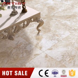 Foshan Wheystone Cream Marble Look Porcelain Floor Tile pictures & photos