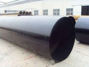 Epoxy Coal Tar Anti-Corrosion and Used for Drainage Steel Tube pictures & photos