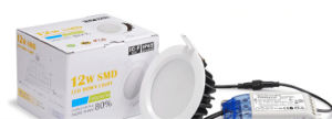 AC85-265V 3000k 12W IP65 Dimmable LED Downlight with 3 Years Warranty pictures & photos