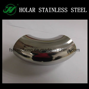 Hight Polish Stainless Steel Welded Elbow Connector pictures & photos
