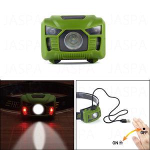 Hot Sale Rechargeable Sensor LED Headlamp pictures & photos