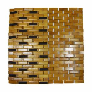 Natural Bamboo Block Bathtub Mat for Bathroom & Flooring pictures & photos