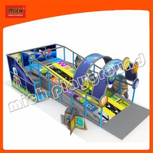 Indoor Playground with Roller Slide for Kids pictures & photos