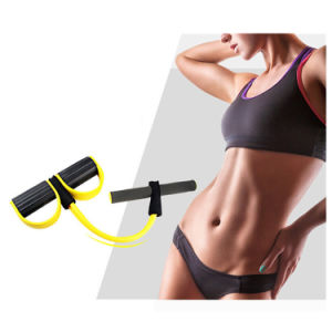 Chest Expander Exercise Pull Rope with Foot Pedals pictures & photos
