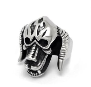 Ox Moster Men′s Ring Vintage Punk Stainless Jewelry pictures & photos