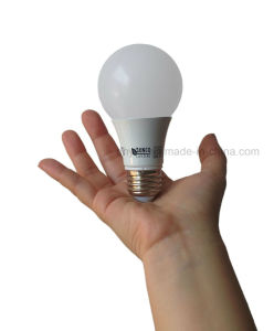 LED A19 7W Light Bulb, Dimmable, 40W Equivalent, 3000k Warm White, 470 Lumens, 15, 000 Life Hours pictures & photos