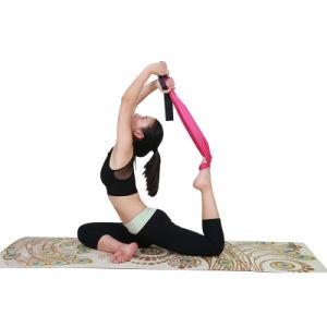 Anti-Slip Suede Yoga Mat Pilates Natural Tree Rubber Yoga Mat pictures & photos