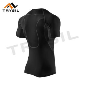 Mens Dry Fit T-Shirt Compression Clothes pictures & photos