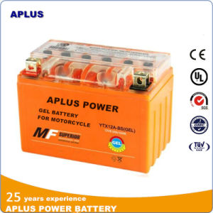 High Performance 12V 9.5ah Gel Battery Ytx12A-BS for Motorcycle pictures & photos