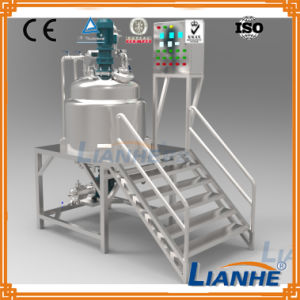 Ce Approved Emulsifying Mixing Tank with Agitator/Homogenizer/Mixer pictures & photos