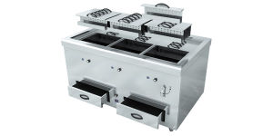 Commercial Four Burners Cooking Range Stove for Kitchen pictures & photos