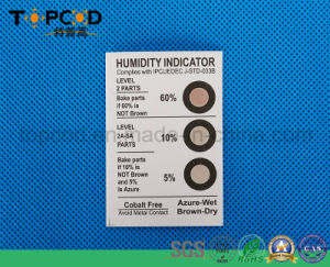 5% 10% 60% Sensor Card for Test Humidity Indicator Hic pictures & photos