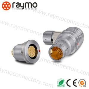 Wso 103 Right Angle Elbow Cable Mouted Plug Circular Connector pictures & photos