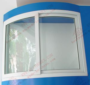 UPVC Curved Sliding Windows and Doors (BHP-SWA10) pictures & photos