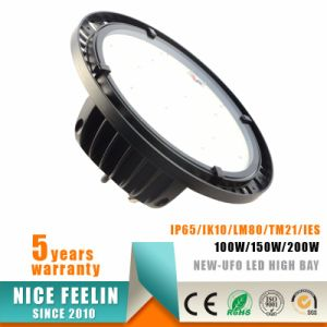 Competitive Price 150W UFO LED High Bay Light AC220-240V 110lm/W pictures & photos