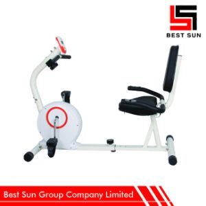 Magnetic Exercise Bike for Fitness, Resistance Recumbent Bicycle pictures & photos