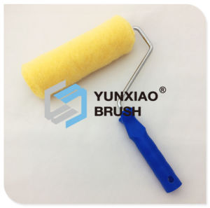 Yellow Polyester Paint Roller Brush pictures & photos