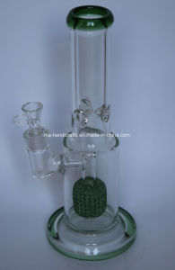 Cheap Wholesale Smoking Glass Water Pipes with Birdcage Percolator pictures & photos
