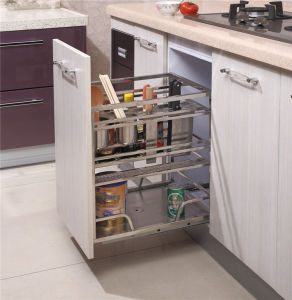 Multi-Functional Kitchen Cabinet Pull out Basket 213 pictures & photos