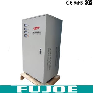 SVC Tns 60kVA Three Phase Vertical AC Automatic Voltage Stabilizers, 60000va Voltage Regulator pictures & photos