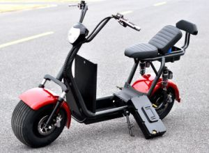 2017 Best Selling Battery Is Removable Citycoco/Seev/Woqu 2 Wheel Citycoco Harley Scooter pictures & photos