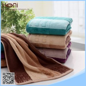 T-075 100% Cotton Striped Cotton Face/Hand Towels pictures & photos