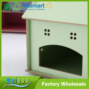 DIY House Shaped Wooden Tissue Box for Desktop pictures & photos