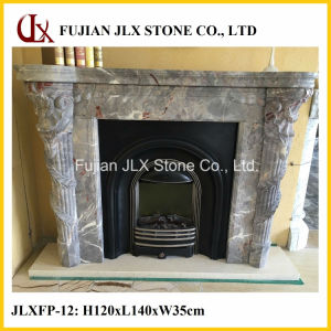 Wholesale Cheap Price Marble Stone Fireplace Mantel pictures & photos