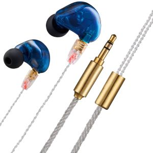 Dual Dynamic Driver Ear Hook in-Ear Stereo Sport Earphones