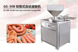 2017 GS-30b Automatic Sausage Filler Electric Sausage Knotting Machine Sausage Filling Machine pictures & photos