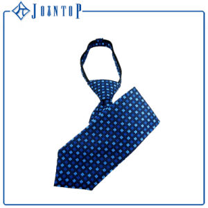 Wholesale Custom Zipper Tie for Man 100% Polyester pictures & photos