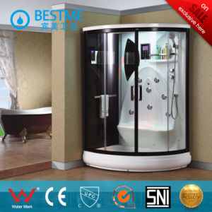 Simple Hydro Massage Glass Steam Shower Room (BZ-5007) pictures & photos